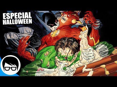 LA LIGA DE LA JUSTICIA ZOMBI (Especial DC Comics HALLOWEEN) | COMIC NARRADO