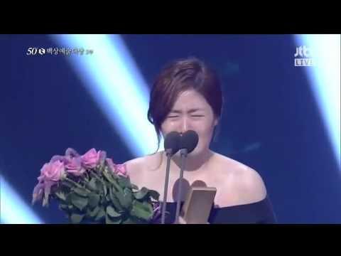 Shim Eun Kyung Wins Best Actress Award 50th Baeksang Arts Awards 2014