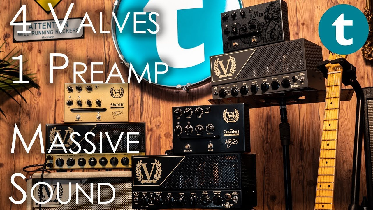 Victory Amps V4 Valve Overdrives | Can you hear the difference? | Geartalk  | Thomann