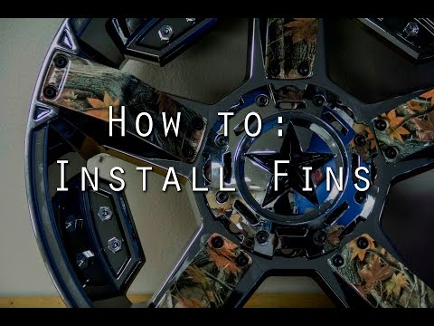 Tutorial: How to Install Fins on the Rockstar II Wheel