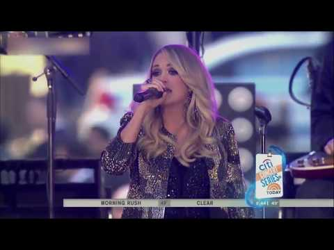 Carrie Underwood - Before He Cheats (Today Show 2015)