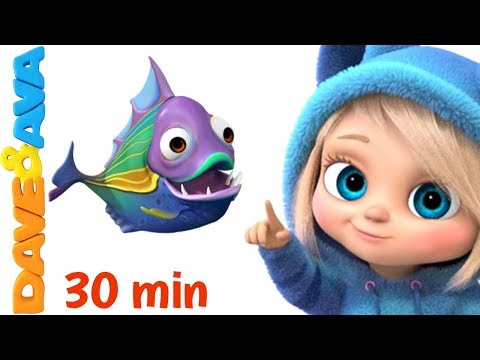 👶 Nursery Rhymes and Baby Songs | Nursery Rhymes and Songs for Kids from Dave and Ava 👶