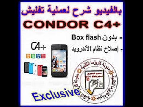 flash tool condor c4+