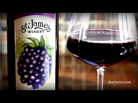 Missouri's Finest Wine: St. James Blackberry Wine