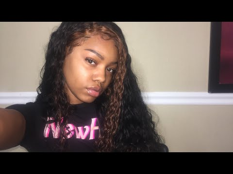 Chit Chat : Watch Me Define My Maxine Hair | Water Wave!