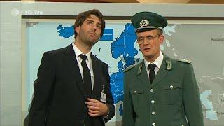 Die Anstalt: Wo leben wir? Die Grenzschützer der DDR vs. EU - 18.11.14 ZDF Folge 7 - Bananenrepublik