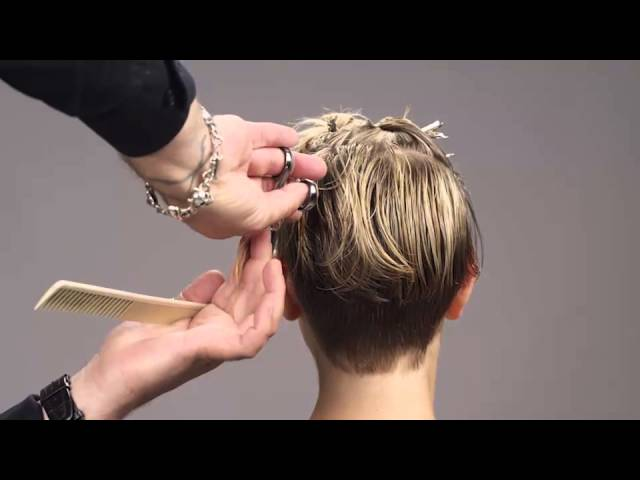 Sexy Hair Modern Hollywood Collection Short Hair Cut Youtube