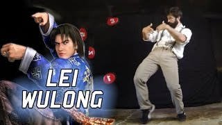 Lei Wulong Tekken-iques - Move List + 10 Hit Combo in Real Life