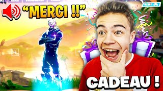 I join and I PAYE skinS to my ABONNES on FORTNITE! 🎁