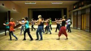 Flashmob Mios - Chorégraphie de dos