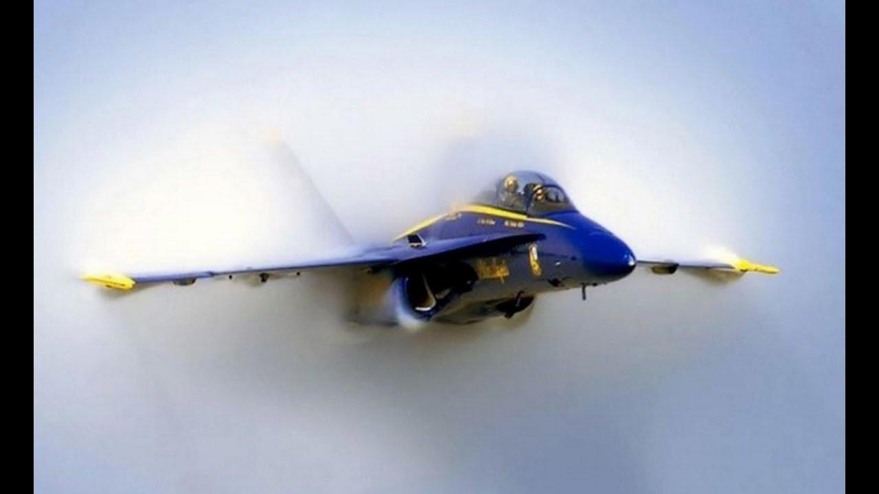 blue angel in sound barrier mach pass w/ vapor wave - 2015 - youtube