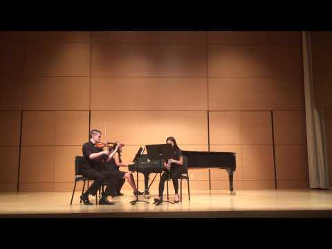 Khachaturian Trio for Clarinet, Violin, and Piano - 3rd Movement