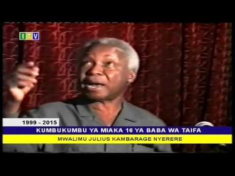 Kumbukumbu ya mwalimu Nyerere