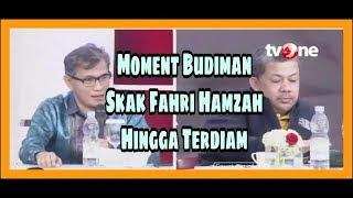 Budiman Sudjatmiko Bungkam  Fahri Hamzah & Dahnil  di ILC Hingga Terdiam