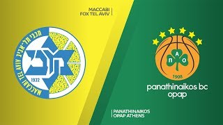 Maccabi FOX Tel Aviv - Panathinaikos OPAP Athens Highlights | EuroLeague, RS Round 15