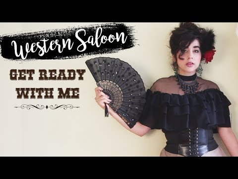 Wild West Saloon GRWM   Hair, Makeup, Outift 👢🌵