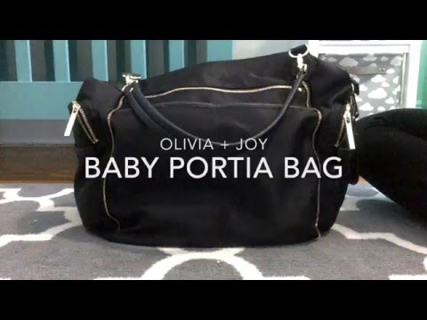 "Diaper bag ""Portia Baby Bag from Olivia + Joy"" Review"