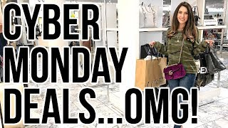 HUGE CYBER MONDAY DEALS 2017 & A SHOPPING HAUL!