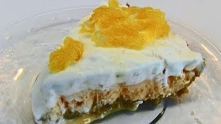 Betty's Orange-vanilla Ice Cream Pie