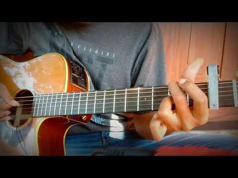 Download Hanin Dhiya _ Berkawan dengan rindu  Fingerstyle Guitar cover   full track Mp4 baru