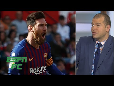 'It's either Messi or it's nobody else for Barcelona' - Alejandro Moreno | ESPN FC