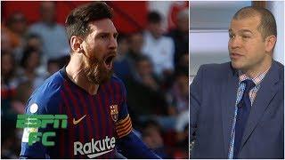 'It's either Messi or it's nobody else for Barcelona' - Alejandro Moreno | La Liga