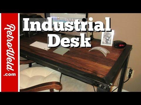 🔴 Handmade Industrial Table Build