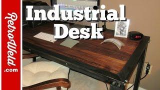 Handmade Industrial Table Build