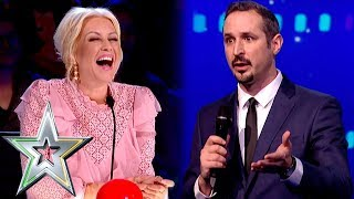 Comic Jim Elliot gives the judges a well deserved roasting! | Ireland's Got Talent