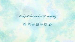 Super Junior - 엉뚱한 상상 (White Christmas) [Han & Eng]