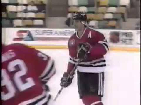 Chicago Blackhawks 1990-91 Season Video Part 2