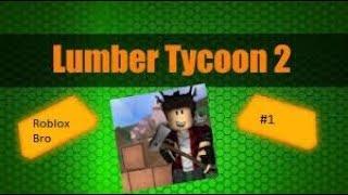 Tudo começou com o machado-Lumber Tycoon 2 #1 | Alemão | Roblox | RobloxBro