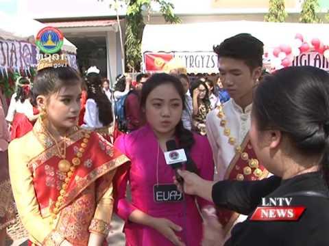 Lao NEWS on LNTV: Eastern Star Bilingual School hosts its third annual Culture Day.20/1/2017