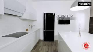 Холодильник с нижней морозильной камерой Hotpoint HF 9201 B RO