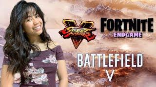 Nouveaux Jeux vendredi #Fortnite Endgame - France #Streetfighther V Procès gratuit (fr) #Battlefield V