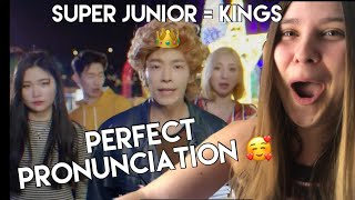 PERFECT PRONUNCIATION ? SUPER JUNIOR 슈퍼주니어 'Ahora Te Puedes …
