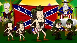 Ted Nugent - Rock and Roll Gun Camp (Comedy short)
