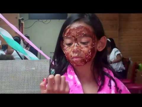 Amera's 10th birthday spa party