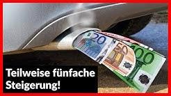 KFZ-Steuer 2018 I Teilweise fünfache Steigerung!