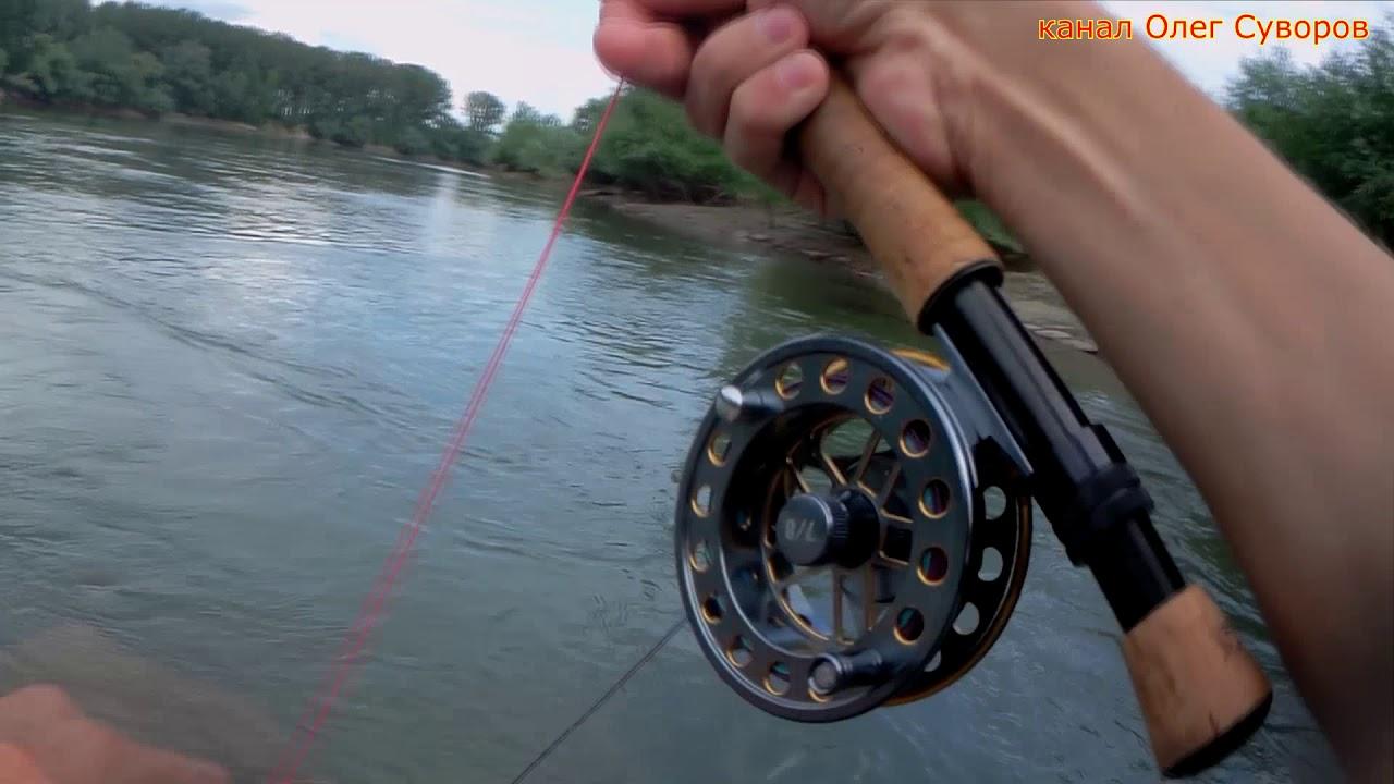 Ловля нахлыстом на нимфу в реках средней полосы россии