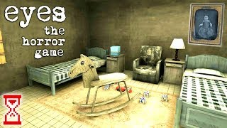 Двойное прохождение Особняка с дочкой | Eyes - The horror game