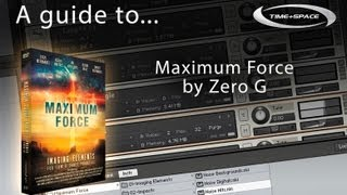Zero-G Maximum Force Sample Library Trailer