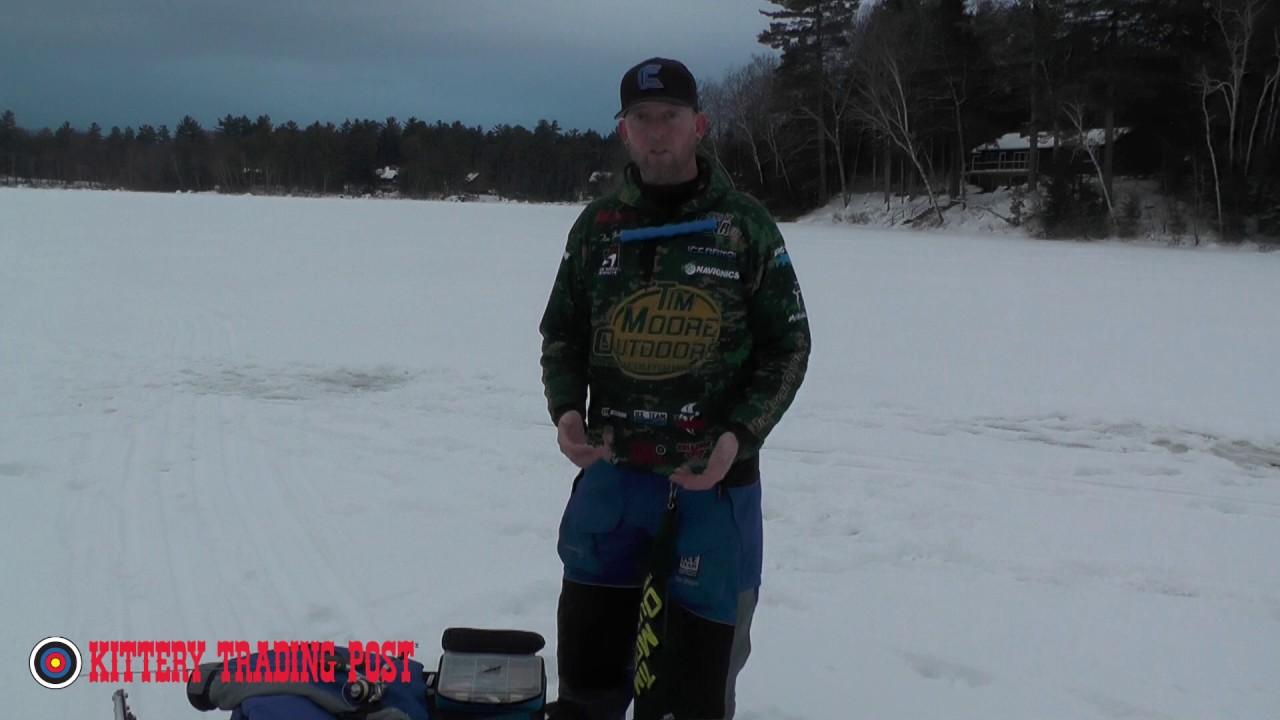 Ktp ice fishing pro tip staying organized on the ice for Ktp fishing report