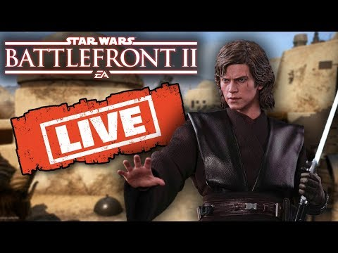 Anakin In 8 Days! Thankyou for 10K Subs! Star Wars Battlefront 2 Live! thumbnail