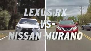 Lexus RX vs Nissan Murano - AutoNation