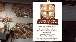 Vietnamese Versions Catholic Mass  Altar Servers 2018-06-02 Fr. THAI BAO  Saint Cecilia  Tustin