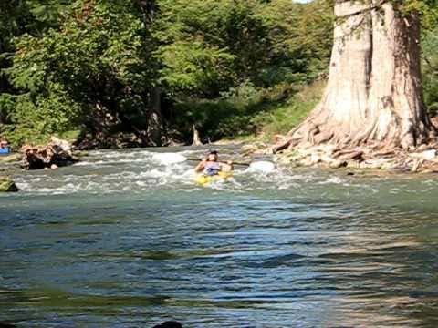 Kayaking the Guadalupe - Linda Barber