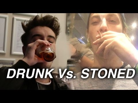 DRUNK VS. STONED (LONDON VS AMSTERDAM)