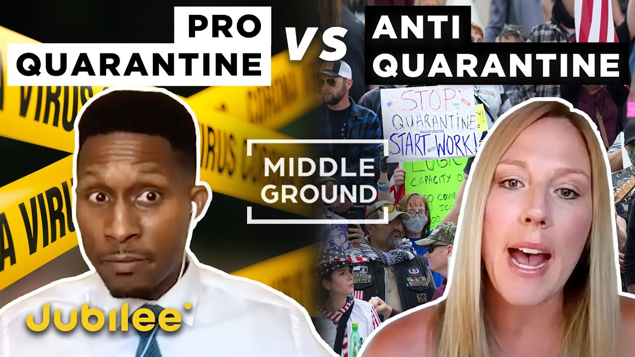 Pro vs Anti Lockdown: Should We Re-Open the Economy? | Middle Ground