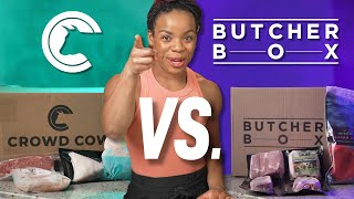 Crowd Cow Vs. Butcher Box Review - Which Is Better 🐮🐷🥓